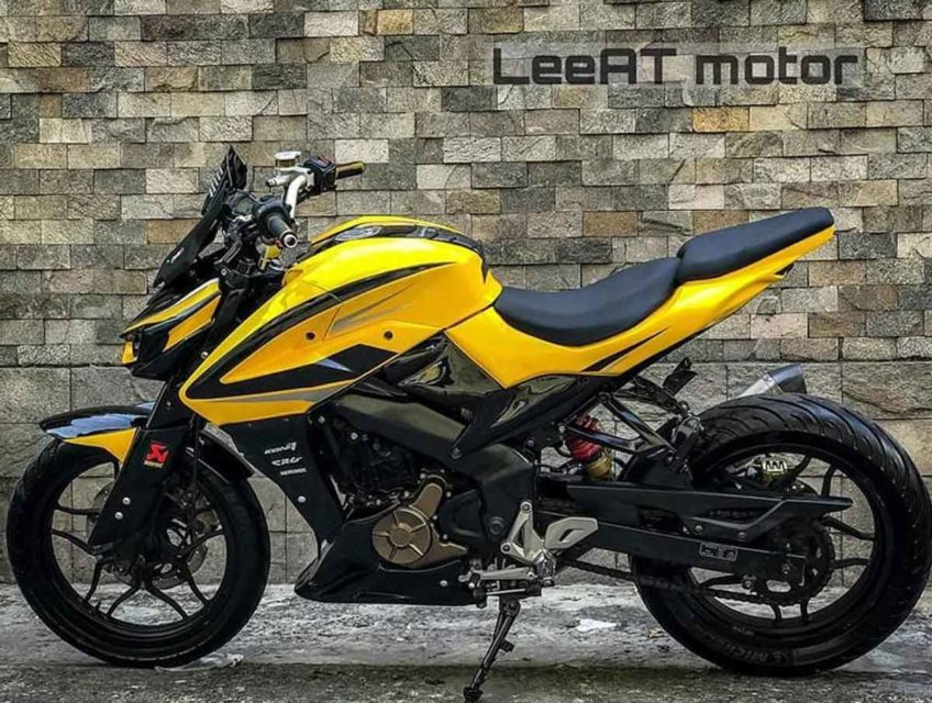 Modified bajaj pulsar NS 200-3