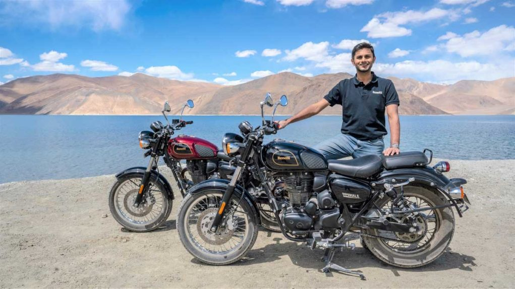 Mr. Vikas Jhabakh Managing Director Benelli India (Imperiale 400 launched)