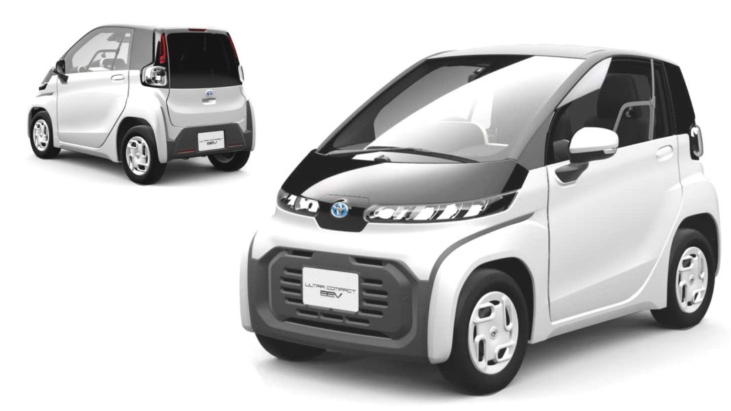 Toyota's Ultra-compact BEV2