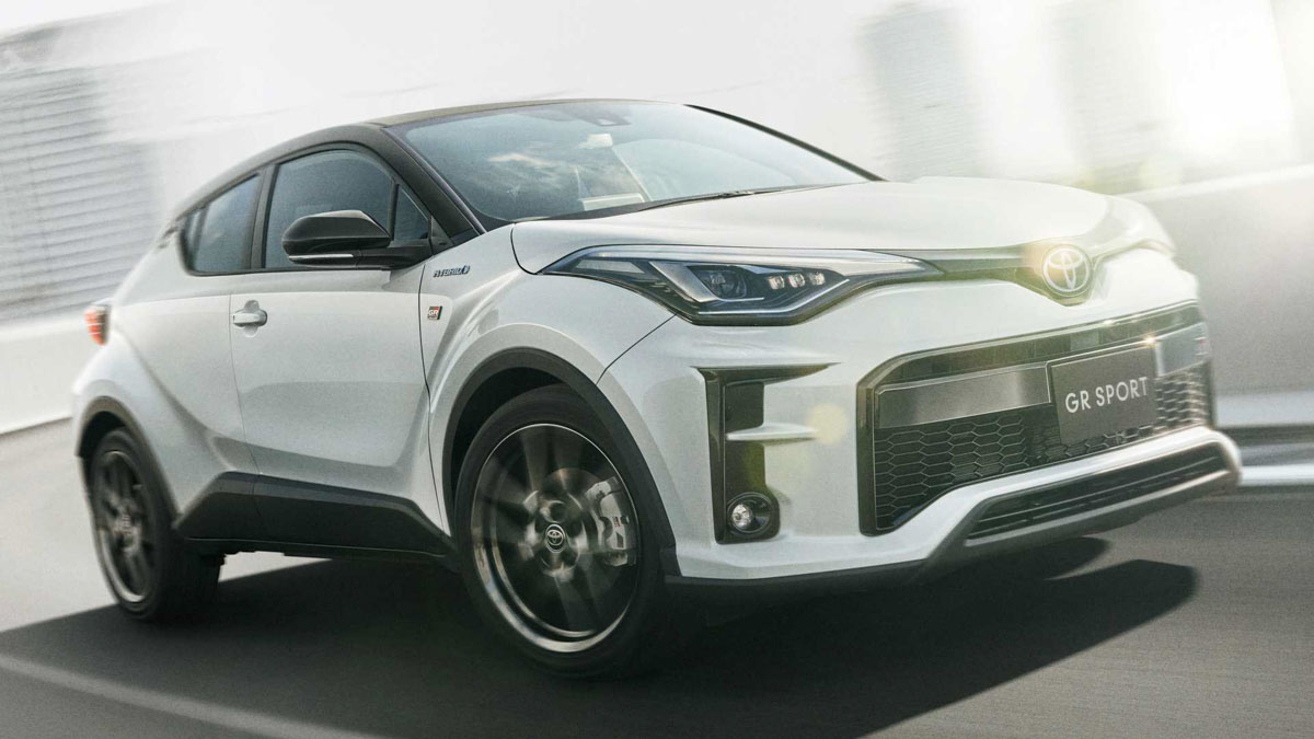 performancespec toyota chr gr sport unveiled with