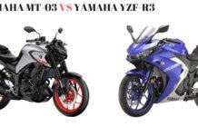 Yamaha MT-03 VS Yamaha YZF-R3