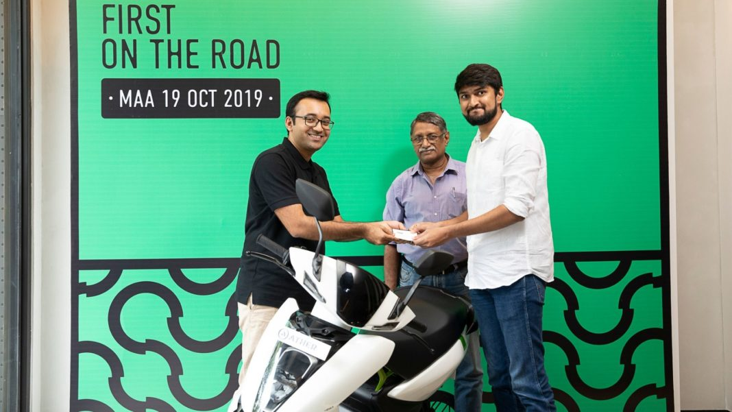 ather 450 first delivery