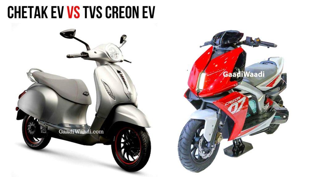 chetak electric vs creon electric