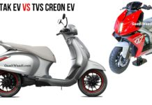 chetak electric vs creon electric side