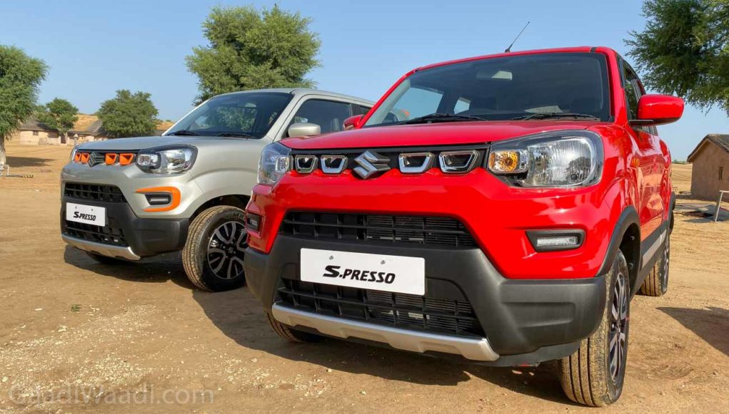 Maruti S-Presso Sales Cross 35,000 Unit Mark In Just 3 Months
