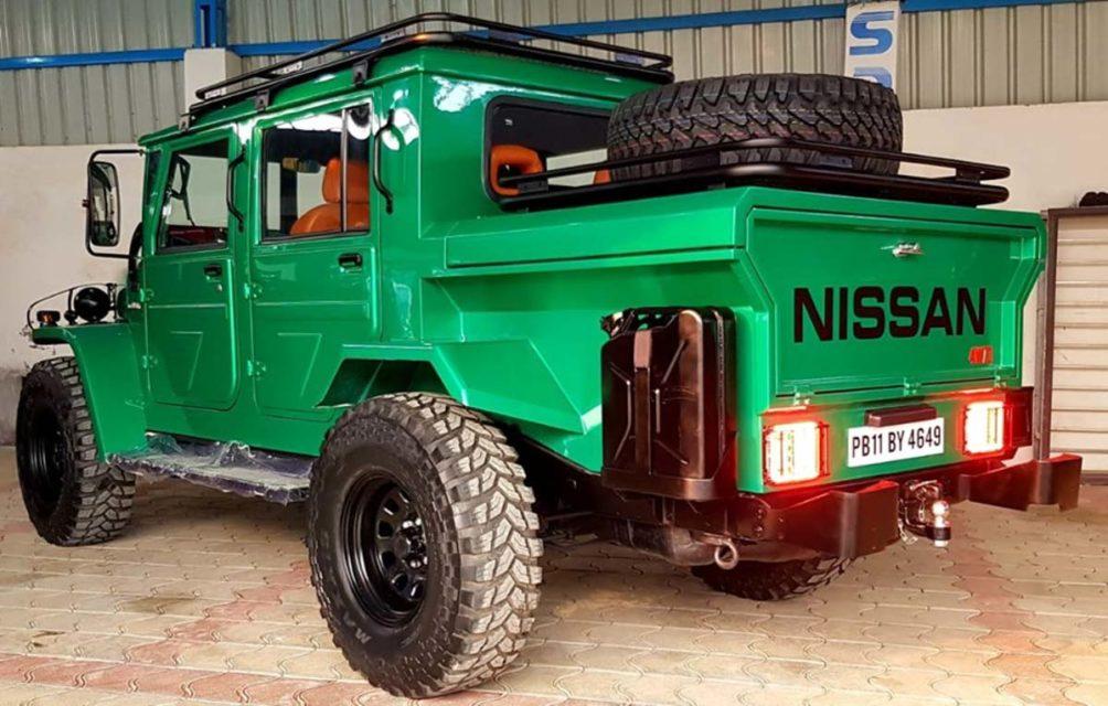 ms dhoni nissan jonga one ton rear