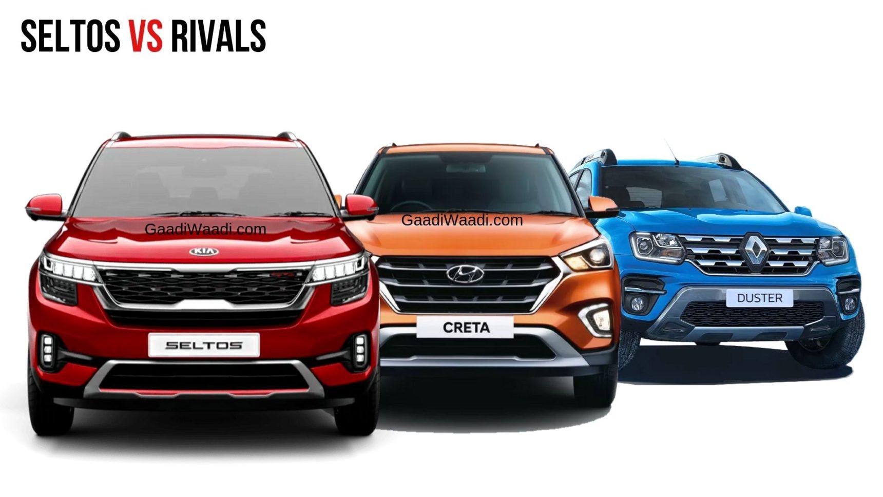 Mid-Size SUV Nov 2019 Sales Analysis – Seltos, Creta, Kicks, Duster & More - GaadiWaadi.com thumbnail