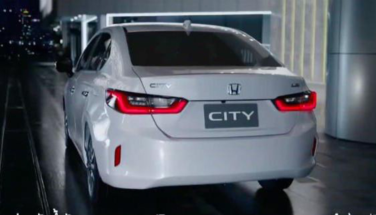 2020 Honda City Unveiled India Launch Early Next Year Details