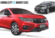 2020 Honda City vs Maruti Suzuki Ciaz