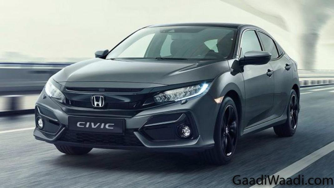2020 Honda Civic facelift