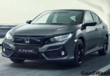 2020 Honda Civic facelift