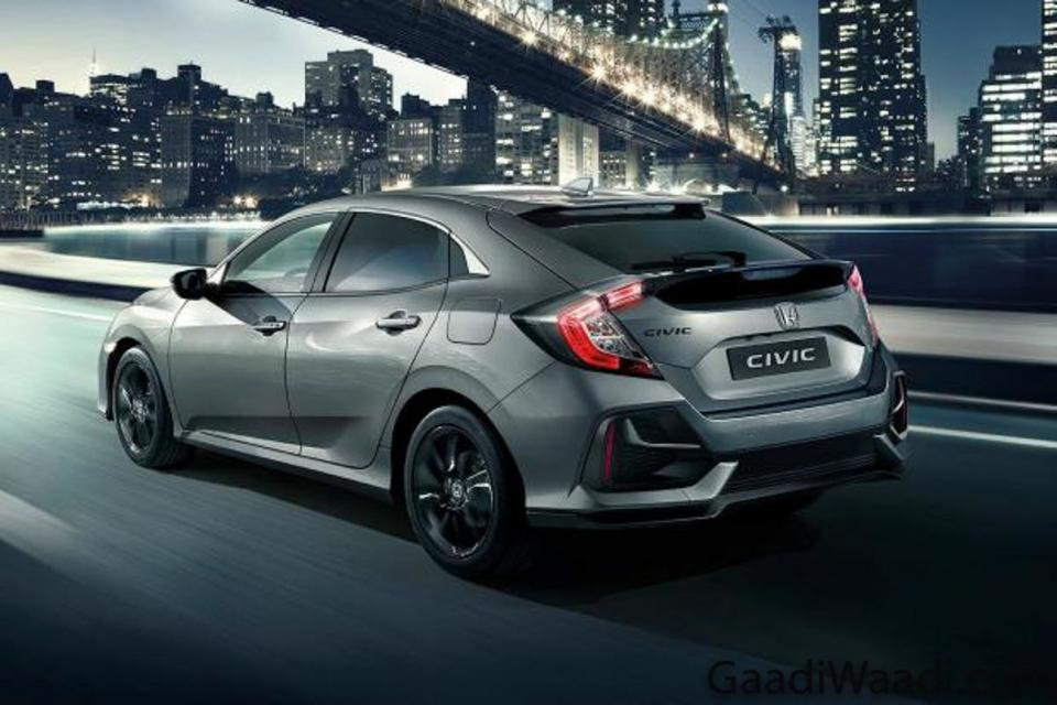 2020 Honda Civic facelift rear