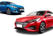 2020 Hyundai Verna Vs Current-gen Verna