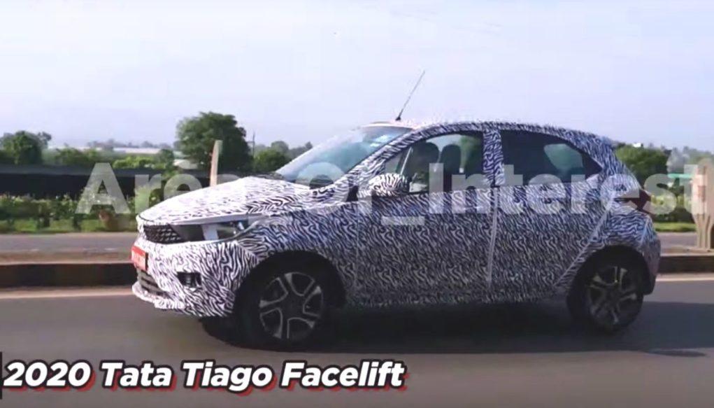 2020 Tata Tiago Facelift side