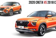 2020 creta vs 2018 creta