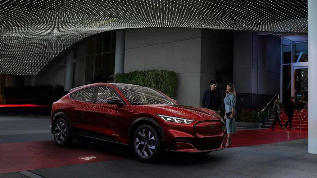 Ford S First All Electric Suv Mustang Mach E Unveiled With 483 Km Range
