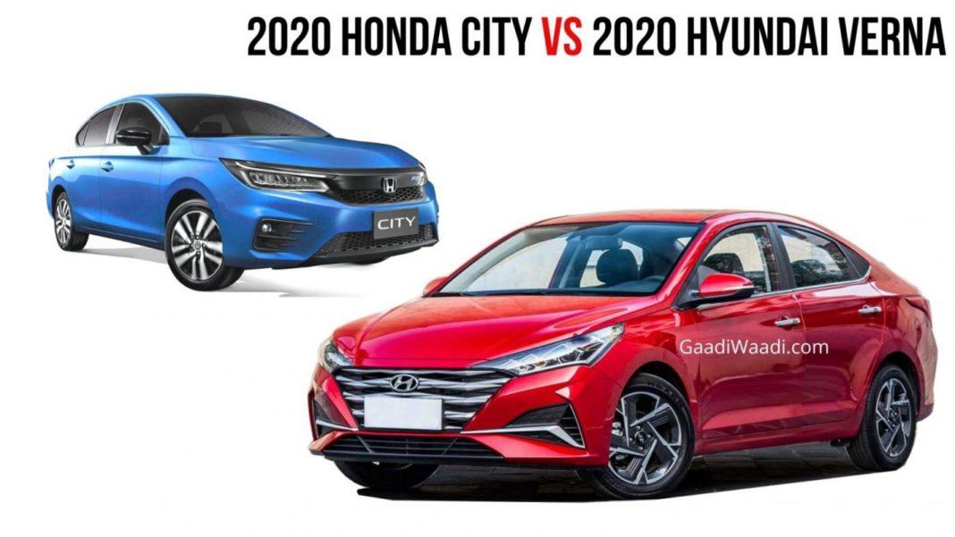2020 honda city vs 2020 Hyundai verna (4)