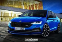 2020 skoda octavia rs rendered
