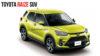 India-Bound Toyota Raize Colours