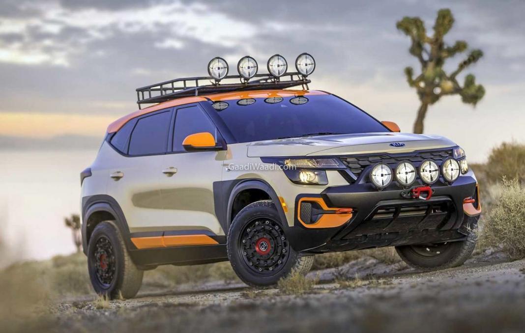 Kia Seltos X-Line Urban Trail Attack Concept -17