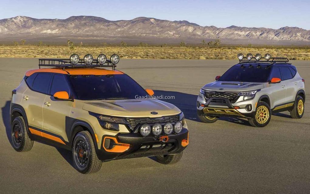 Kia Seltos X-Line Urban Trail Attack Concept -3