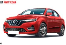 Renault Kwid Based Compact Sedan Rendered, Launch Expected In 2021