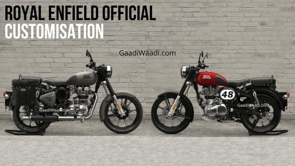 Royal Enfield Classic 350 Customisation options 1