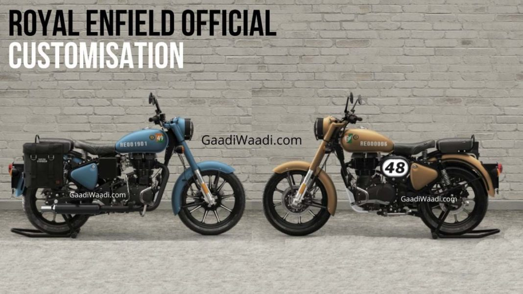 Royal Enfield Classic 350 Customisation options 3