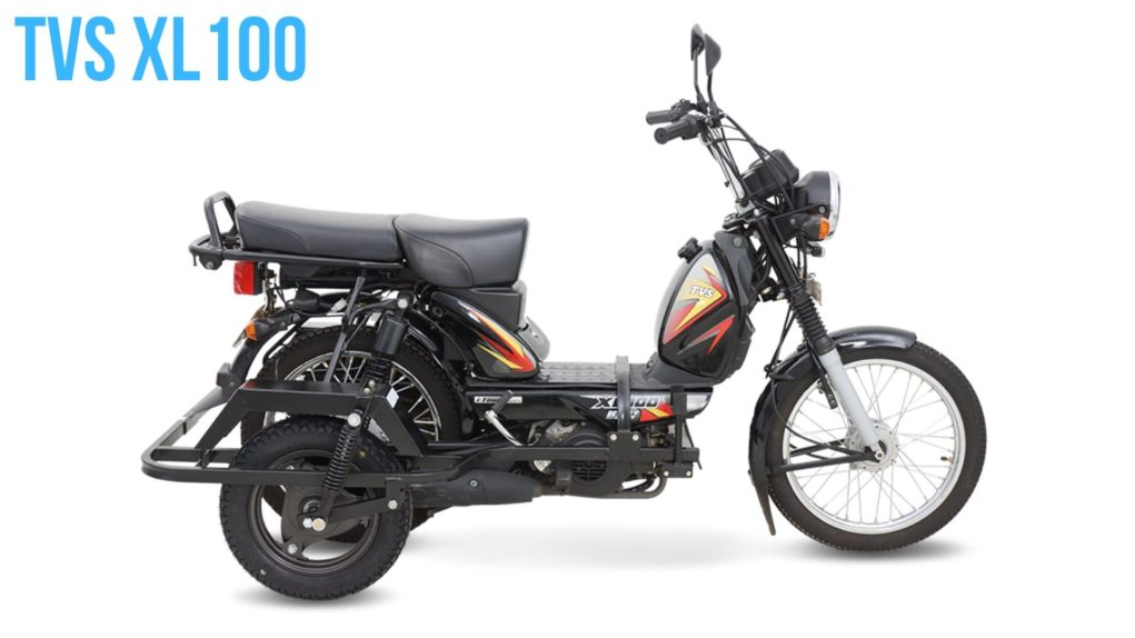 TVS XL 100 retrofitment kit for differently abled 4
