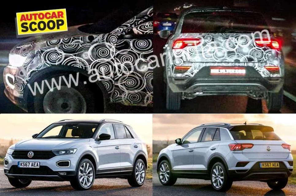 Volkswagen T-Roc Spied