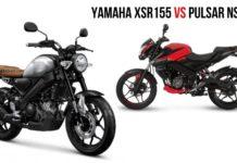 Yamaha XSR 155 VS Bajaj Pulsar NS 1602