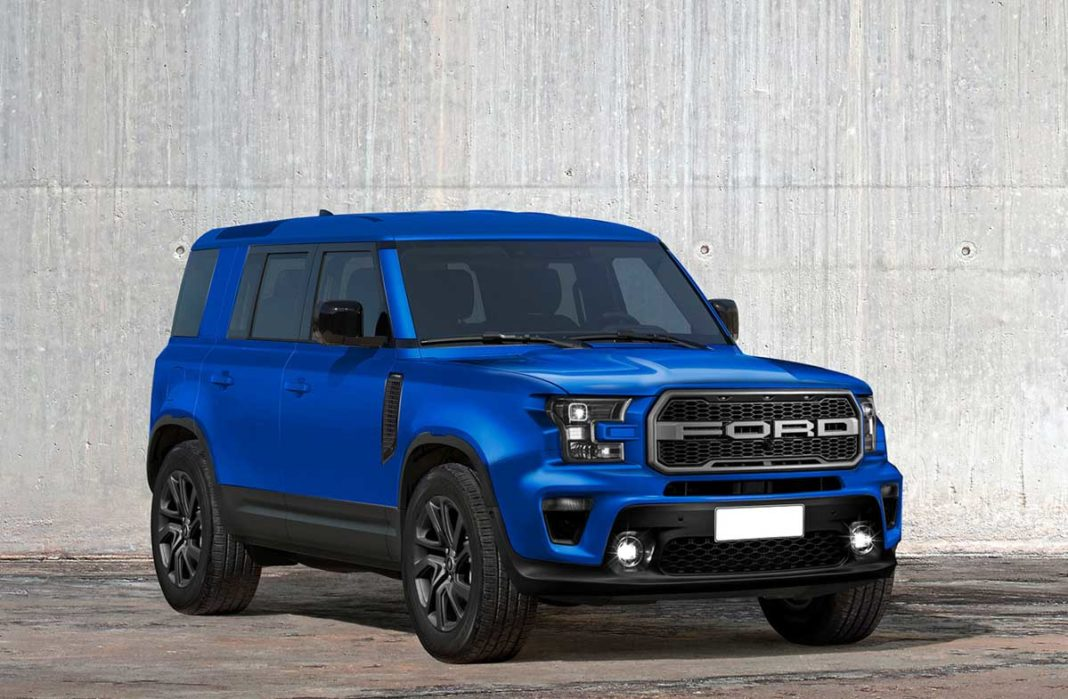 ford baby bronco rendered