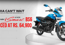 hero splendor ismart bs6 launched 1