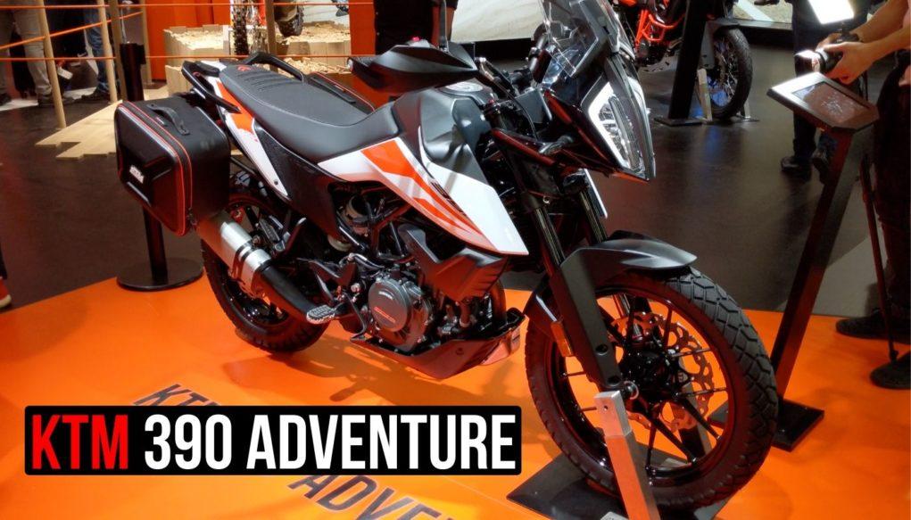 ktm 390 adventure video