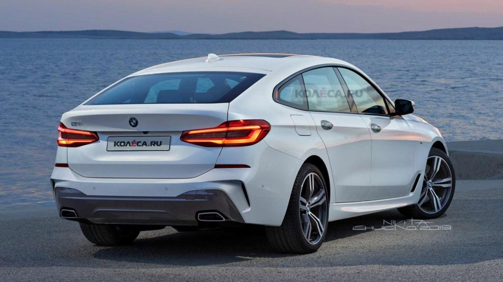 2020 BMW 6 Series GT facelift Rear