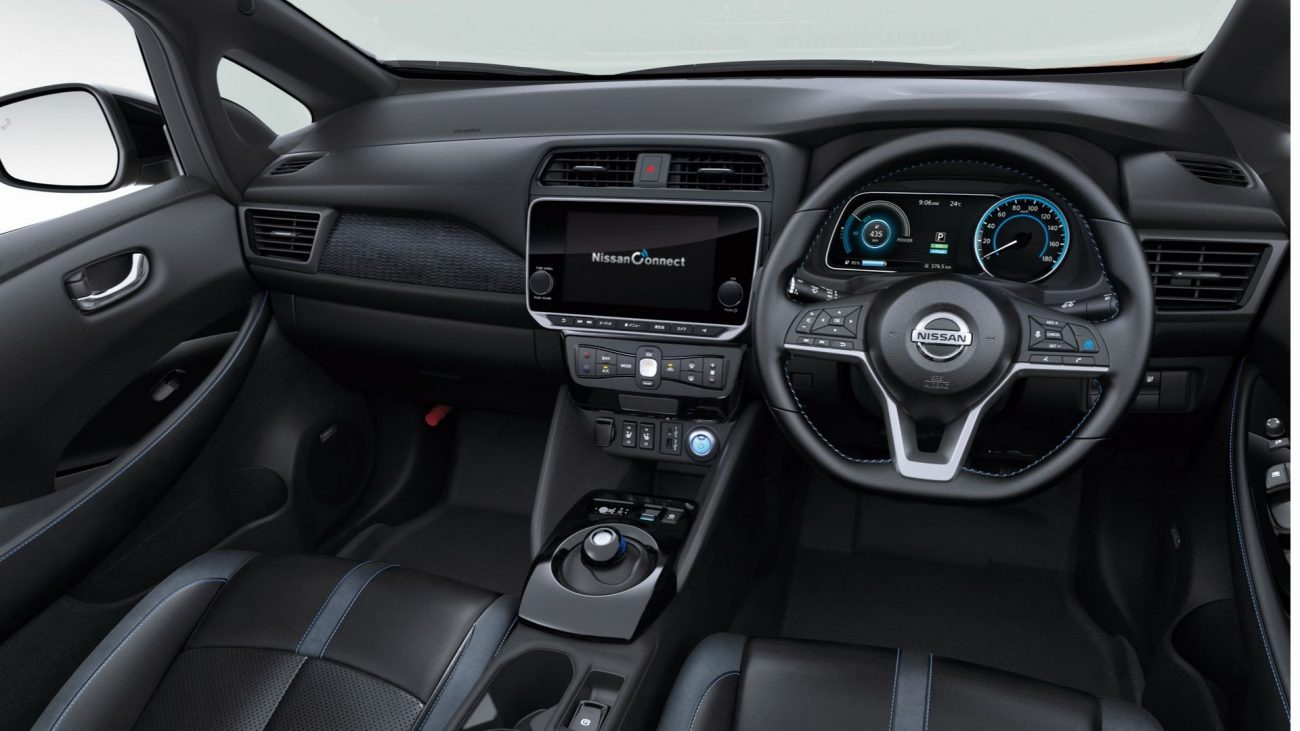 2020 nissan leaf updated with new tech and colour options