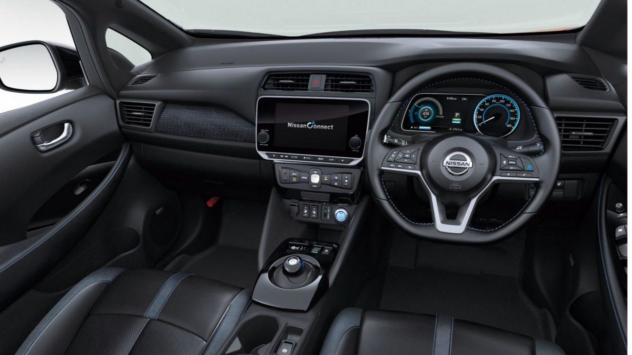 Nissan Leaf revealed for Japan