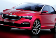 2020 Skoda Rapid Teased