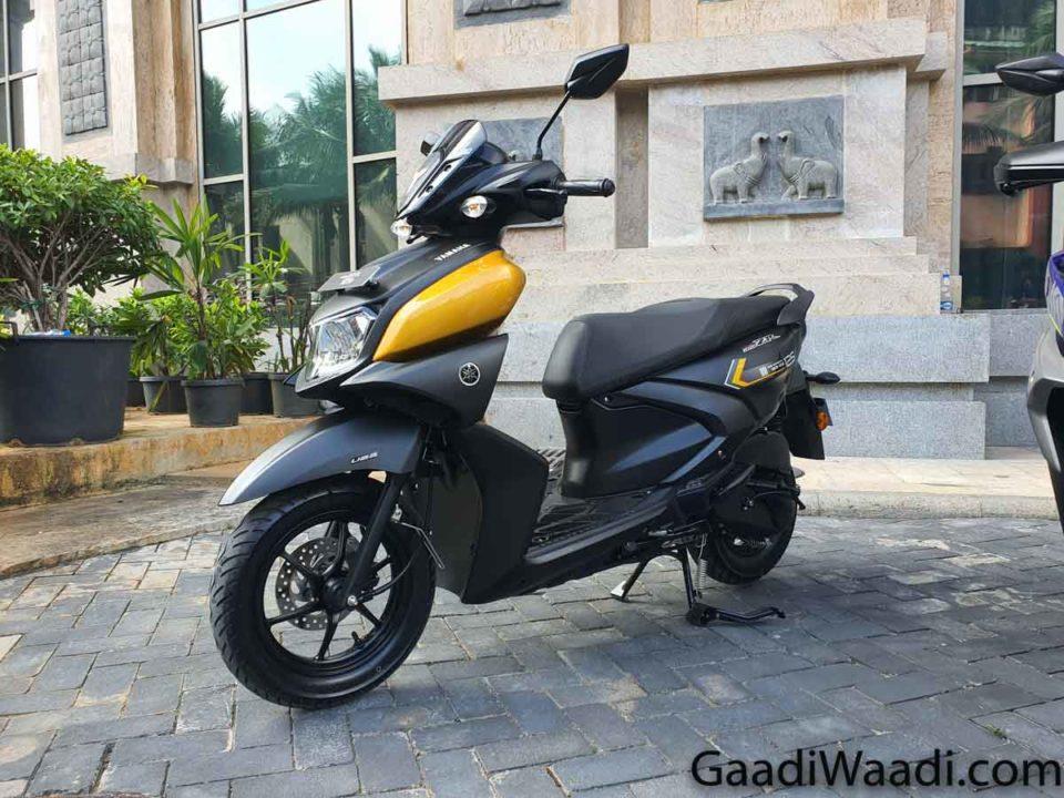 2020 Yamaha Cygnus Ray ZR 3