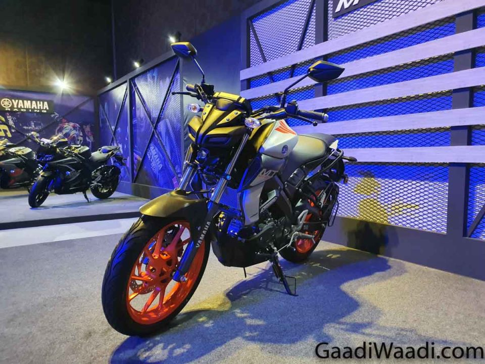 2020 Yamaha MT-15 BS6 1