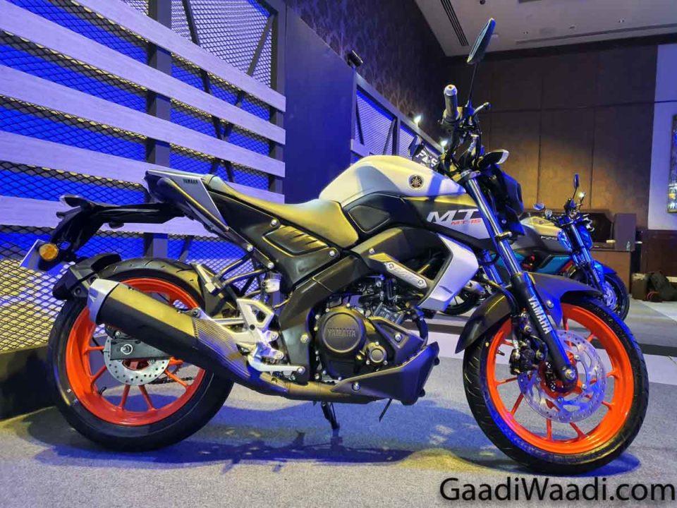 2020 Yamaha MT-15 BS6
