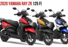 BS6 2020 Yamaha Ray ZR 125 Fi