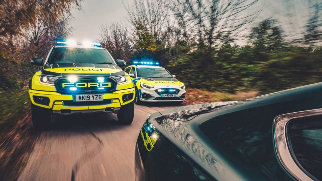 Ford Focus ST And Ranger Raptor To Join Police Forces