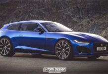 Jaguar F-Type Rendering