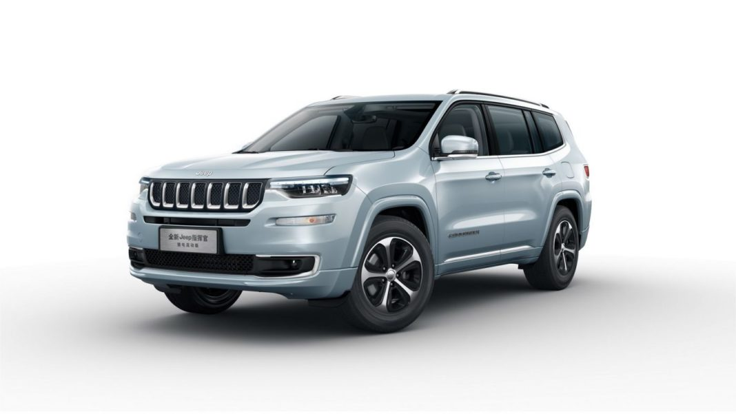 Jeep Launches Grand Commander Phev In China Priced At Rs 28 37 Lakh