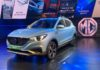 MG ZS EV Unveiled India