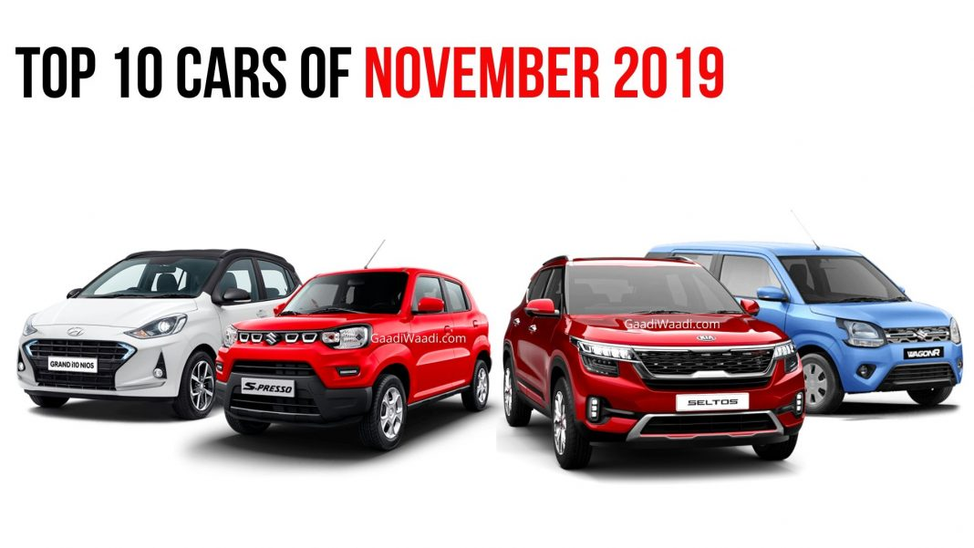 Top 10 Cars Of November 2019