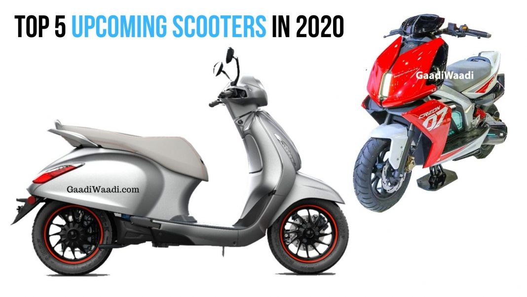 Top 5 Upcoming Scooters In 2020