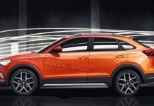 Volkswagen Nivus Suv Rendering