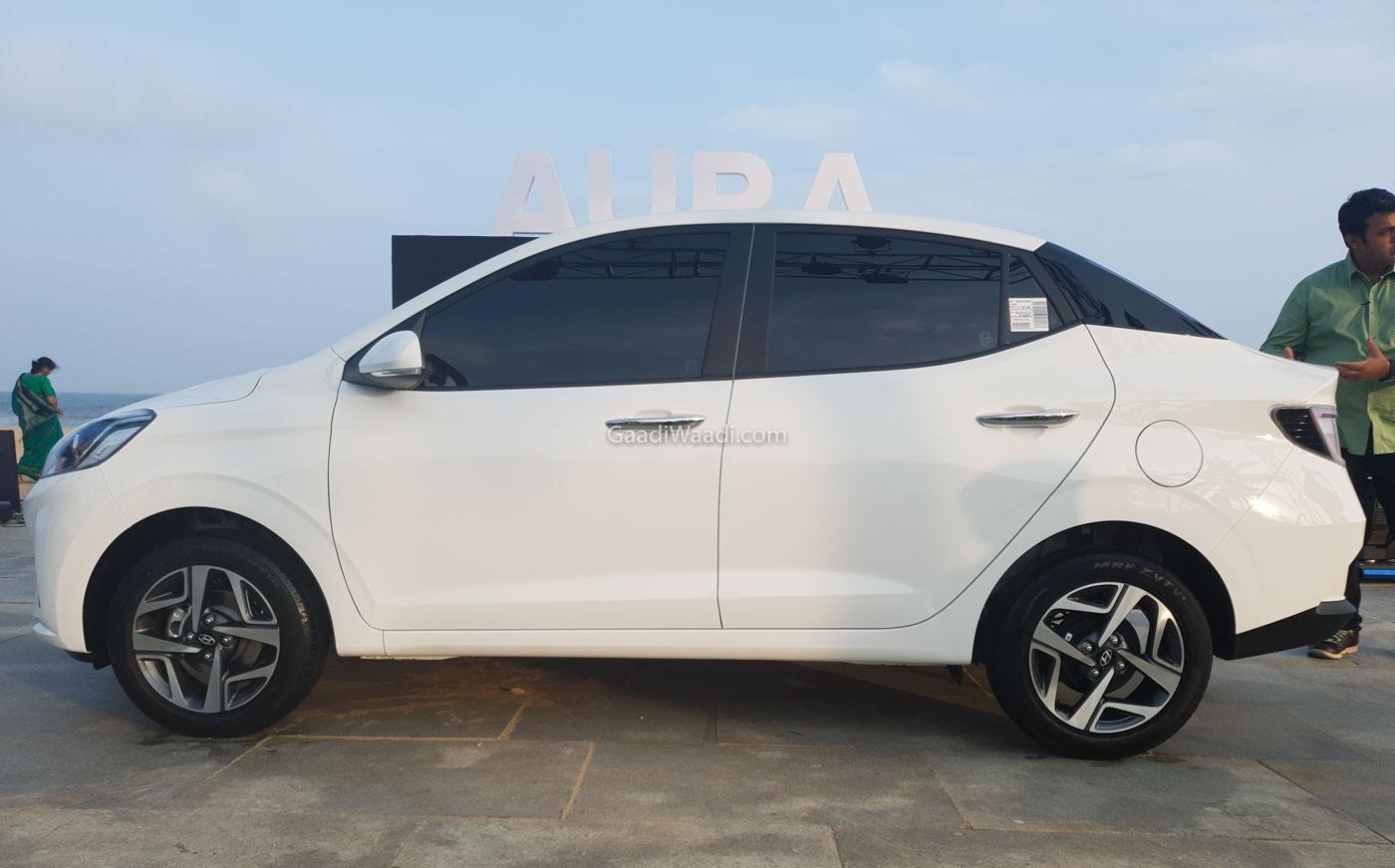 All-New Hyundai Aura Compact Sedan Launching Today In India